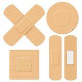 Bandage médical illustration stock