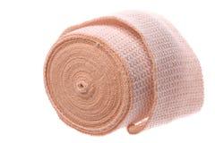 Bandage Macro Isolated. Isolated macro image a first aid bandage Royalty Free Stock Image