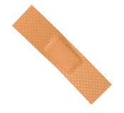 Bandage on White Background Stock Photography