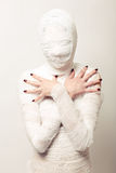 Bandaged mummy Stock Images