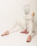 Bandaged mummy Stock Images