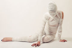 Bandaged mummy Stock Photography