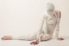 Bandaged mummy Stock Photography