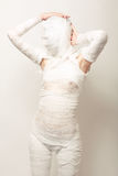 Bandaged mummy Royalty Free Stock Photography