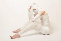 Bandaged mummy Stock Photos