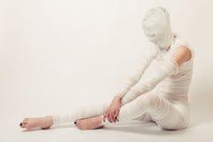 Bandaged mummy Royalty Free Stock Images