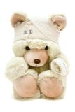 Bandaged Teddy Royalty Free Stock Image