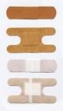 Bandages adhésifs Images libres de droits