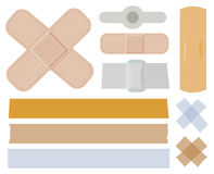 Bandages Collection Stock Photo