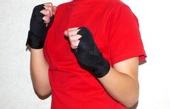 Bandages de combat Photo stock