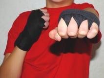 Bandages de combat Images libres de droits