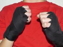 Bandages de combat Image stock