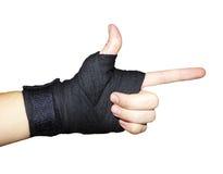 Bandages de combat Photo libre de droits