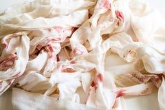 Bandages ensanglantés Images libres de droits
