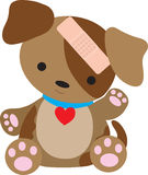 bandaid щенок Стоковая Фотография