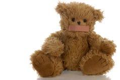 bandaid björnmunnalle Arkivfoto