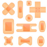 Bandaid Icon Set Royalty Free Stock Image