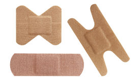 Bandaid set Royalty Free Stock Photos