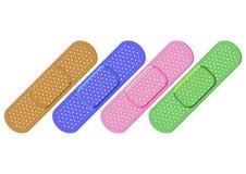 bandaids цветастые Стоковые Изображения