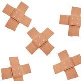 Bandaids isolated Stock Images