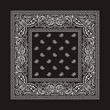 bandana-2 (black) Royalty Free Stock Images