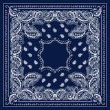 Bandana azul Imagens de Stock Royalty Free