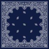 Bandana azul Fotos de Stock Royalty Free