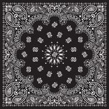 bandana-black royalty free stock photos