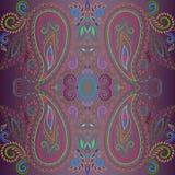 Bandana bright colors.  Vector print square. Royalty Free Stock Photography