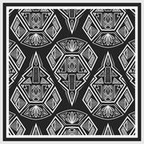 Bandana design with geometrical elements Royalty Free Stock Images