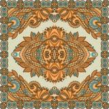 Bandana floral decorativo tradicional de Paisley Imagens de Stock