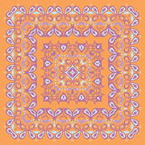 Bandana Pattern. Colorful Illustration. Royalty Free Stock Photography