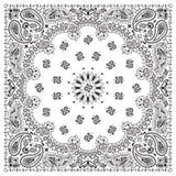 bandana-wit Stock Afbeelding