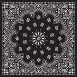 bandana-zwarte Royalty-vrije Stock Foto's
