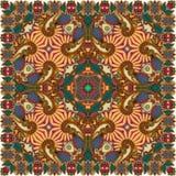 Bandanna floral decorativo tradicional de paisley Fotografia de Stock Royalty Free