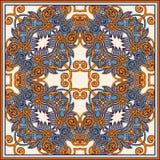 Bandanna floral decorativo tradicional de paisley Imagem de Stock Royalty Free