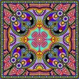Bandanna floral decorativo tradicional de paisley Imagens de Stock Royalty Free