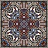 Bandanna floral decorativo tradicional de paisley Foto de Stock