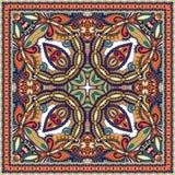 Bandanna floral decorativo tradicional de paisley Fotos de Stock