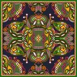 Bandanna floral decorativo tradicional de paisley Imagens de Stock
