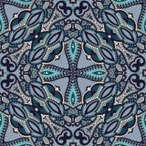 Bandanna florale ornementale traditionnelle de Paisley Photos libres de droits