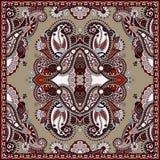 Bandanna florale ornementale traditionnelle de Paisley Images stock
