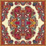 Bandanna florale ornementale traditionnelle de Paisley Photographie stock libre de droits