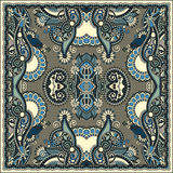 Bandanna florale ornementale traditionnelle de Paisley Photo stock