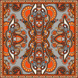 Bandanna florale ornementale traditionnelle de Paisley Photo libre de droits