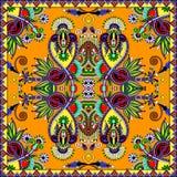 Bandanna florale ornementale traditionnelle de Paisley Photographie stock