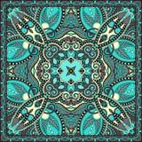 Bandanna floreale ornamentale tradizionale di Paisley Immagini Stock Libere da Diritti