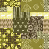 Bandanna patchwork fabric Stock Photography