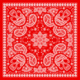 Bandanna rouge Photos stock