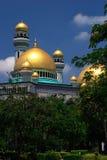 bandar begawan汶莱清真寺seri 库存照片